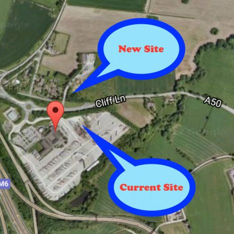 Lymm Truckwash new location map