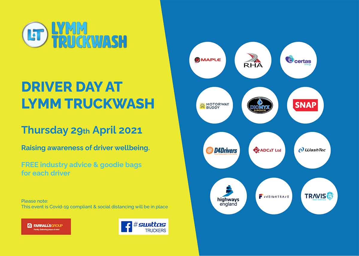 Driver Day flyer